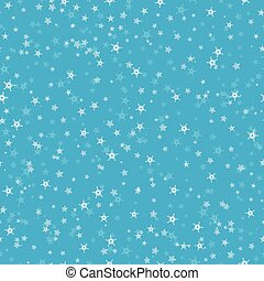 seamless, 圖案, ......的, 很多, 雪花, 上, 藍色, 背景。, 聖誕節, 冬天, 主題, 為, 禮物, wrapping., 新年, seamless, 背景, 為, website.