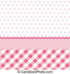 seamless, 女の赤ん坊, パターン, wallpap