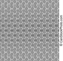 seamless, 幾何学的, オペ, 芸術, texture.