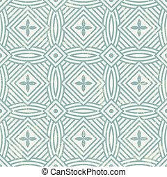 seamless, 幾何学的, pattern.