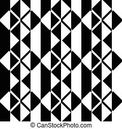 seamless, 広場, そして, ストライプ, パターン