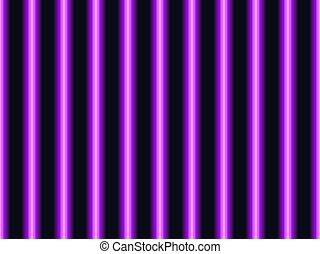 seamless, 明るい, 縦, パターン, style., ライン, 80s, イラスト, ネオン, ベクトル, stripes., 紫色