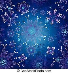 seamless, 深藍, 坡度, 聖誕節, 圖案