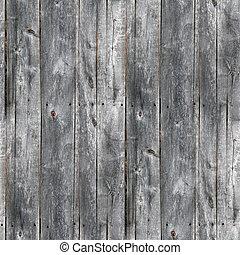 seamless, 灰色, 手ざわり, 古い, 木製板, 背景