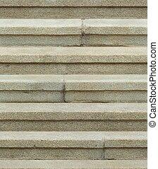 seamless, 花こう岩, 石, 階段, 手ざわり, 背景