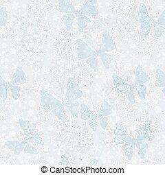 seamless, 銀色, 聖誕節, 圖案