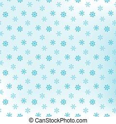 seamless, 雪片, パターン, そして, 背景, ベクトル, イラスト