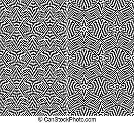 seamless, 꽃의 패턴