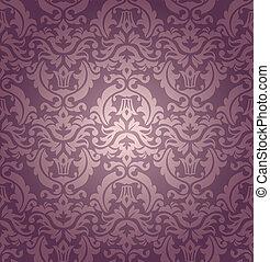 seamless, 다마스크 천, 벽지