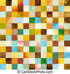 seamless, 배경, 와, 종이, 패턴
