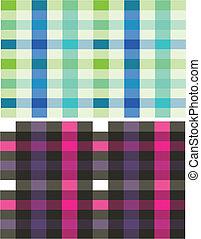 seamless, 수표 패턴