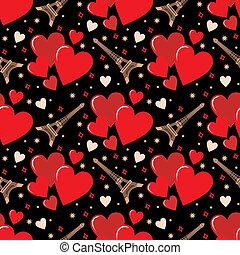 seamless, 심혼, pattern.