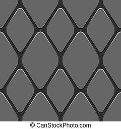 seamless, 트럭, 타이어, 패턴, 벡터, illustration.