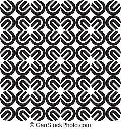 seamless, 패턴, (vector)
