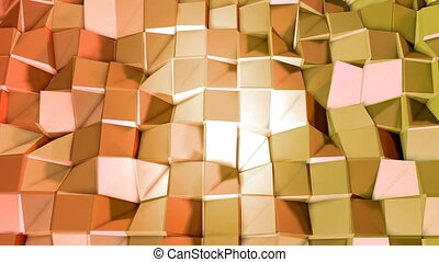 Seamless 3d geometric background in modern geometric style...