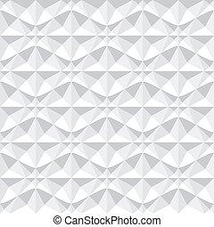 Seamless 3d geometric pattern.
