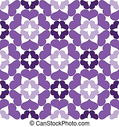 Seamless abstract art lilac pattern