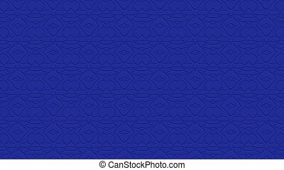 Seamless abstract background in blue tones with scribbles