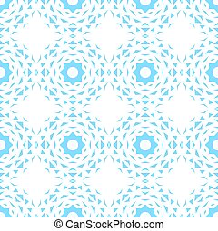 Seamless abstract background with blue geometric shapes.
