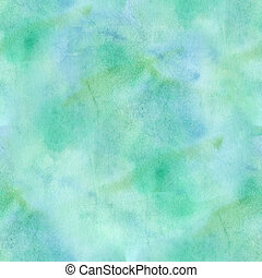 seamless, abstract, blauw/groen, watercolor, achtergrond.
