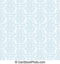 Seamless abstract blue pattern