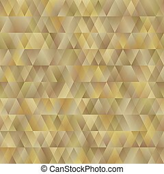 seamless abstract bright background of the triangle. imitation gold. design greeting card and invitation of the wedding, birthday, Valentine's Day, mother's day and other holiday