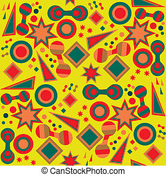 seamless abstract bright background