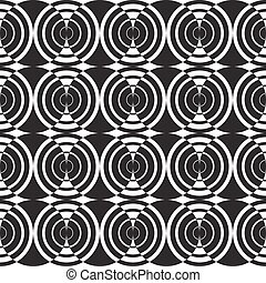 seamless abstract circle line pattern