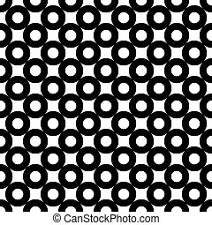 Seamless abstract circle pattern.