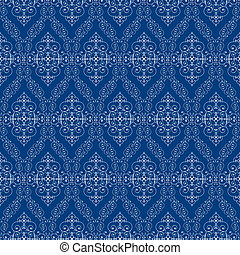 seamless abstract cyan orient pattern - seamless abstract...