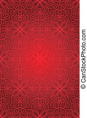 seamless abstract floral pattern background, vecter