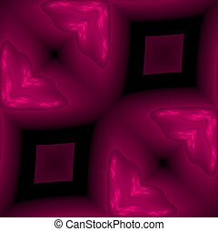 Seamless abstract fractal pattern