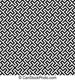 Seamless abstract geometric background pattern texture