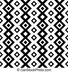 seamless abstract geometric black and white background