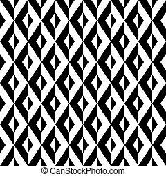 Seamless abstract geometric op art pattern background