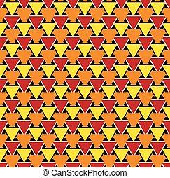 Seamless abstract geometric triangular pattern texture