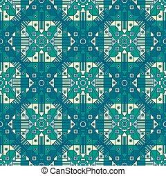 seamless, abstract, geometrisch patroon, met, een van een aard, repetition.