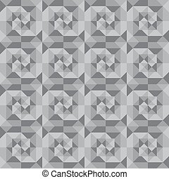 seamless abstract gray geometric pattern