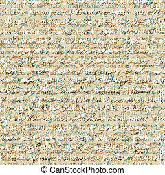 Seamless abstract handwriting pattern. Vector background, EPS10