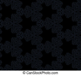 Seamless abstract kaleidoscope pattern.