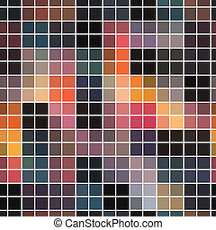 seamless abstract mosaic background