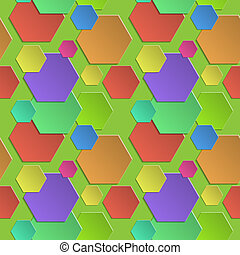 Seamless abstract multicolored background