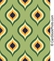 seamless abstract ornament pattern