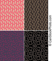 seamless abstract pattern print