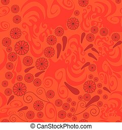 Seamless abstract pattern with red rosette and paisley [Converted].eps