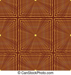 Seamless abstract pattern with squares