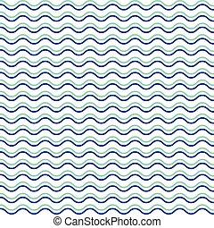 seamless abstract pattern with waves