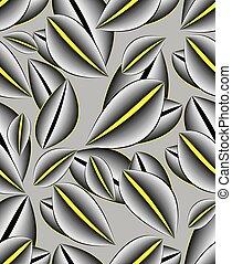 Seamless abstract rose petal pattern