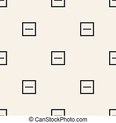 seamless abstract square pattern background