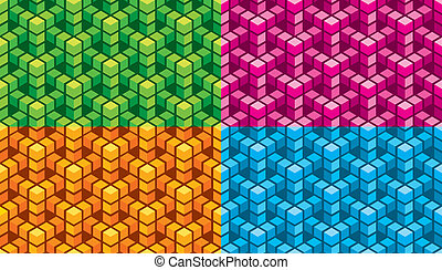 Seamless abstract vector background